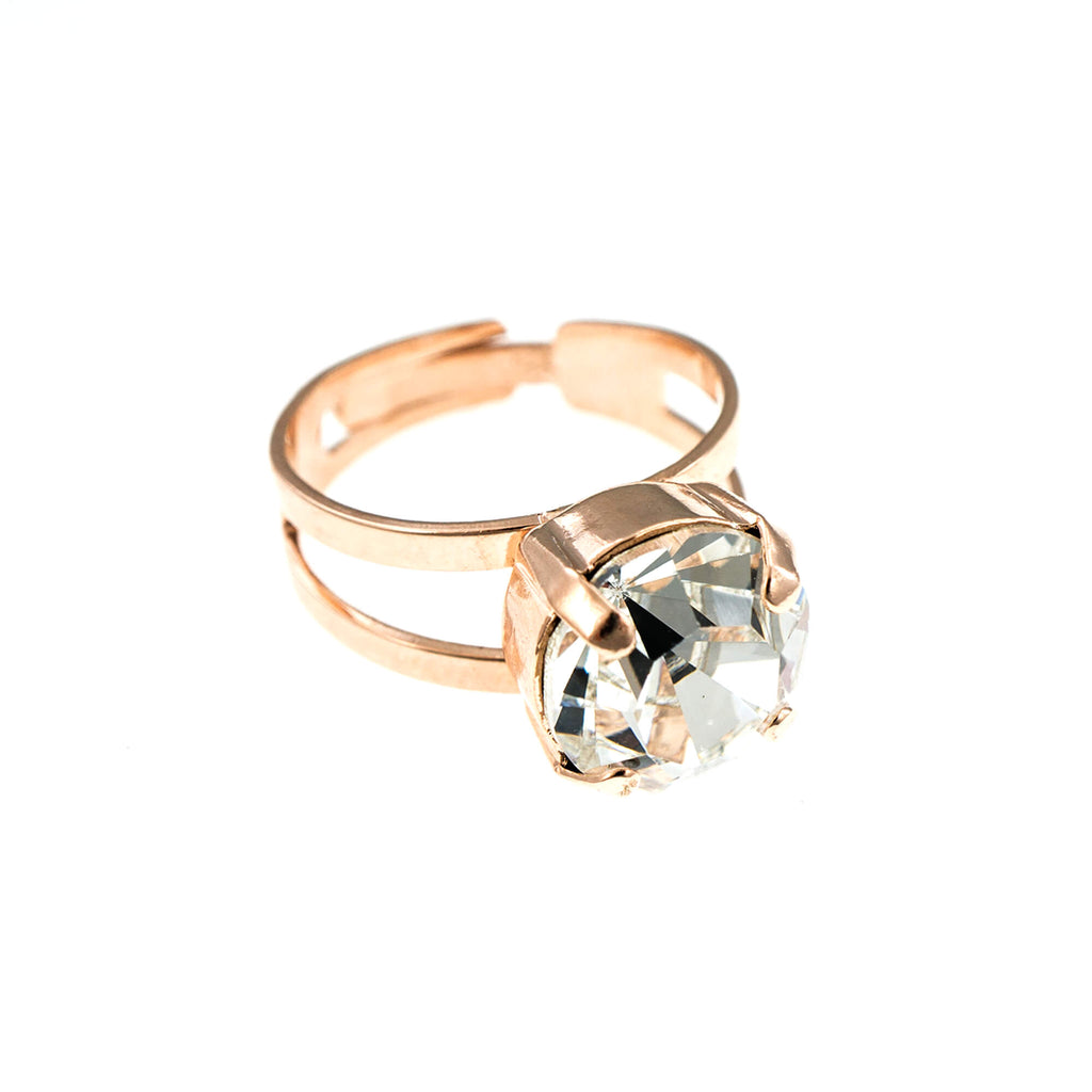 Mariana Rose Gold Plated Ring | Roxanne's Jewellery | 001RG