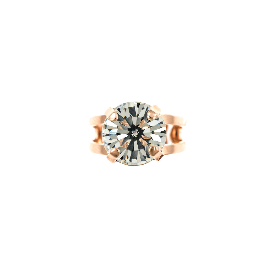Lucky Birthstone-The Color of Your Life Collection Rose Gold Plated Ring-7048-001RG