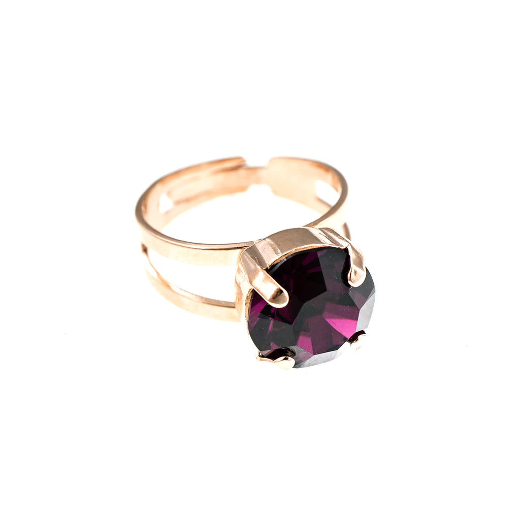 Mariana Rose Gold Plated Ring | Roxanne's Jewellery | 204RG