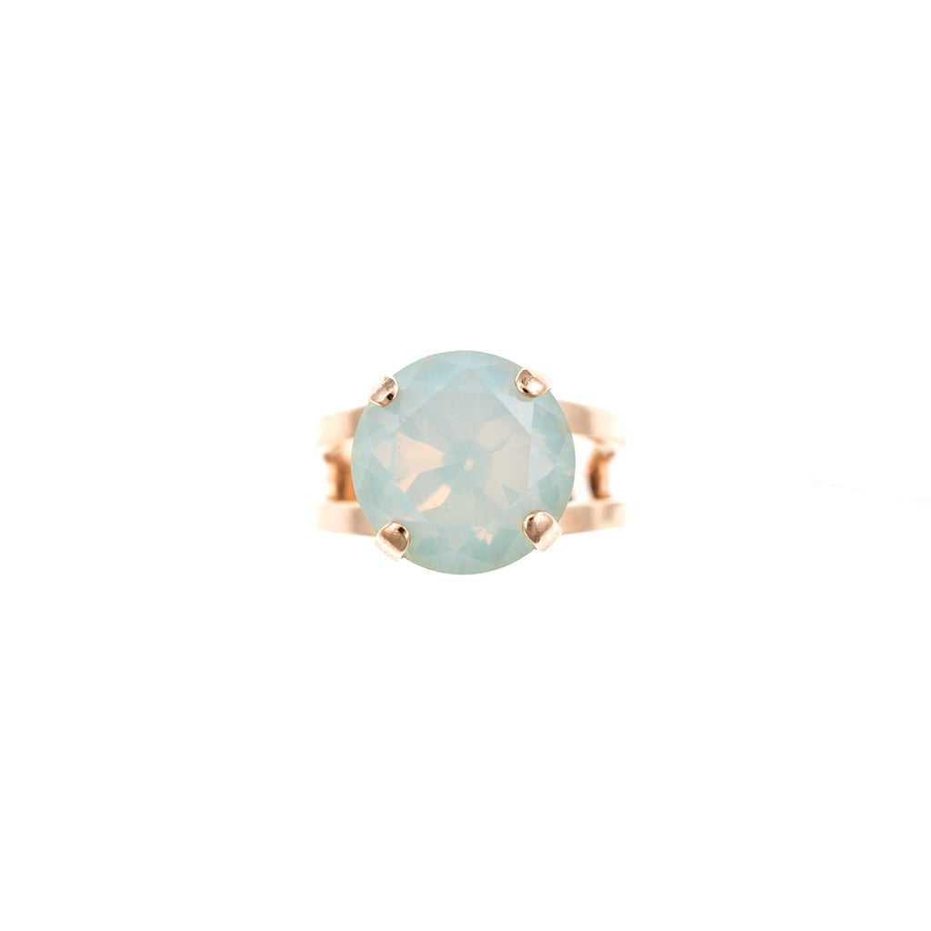 Lucky Birthstone-The Color of Your Life Collection Rose Gold Plated Ring-7048-234RG