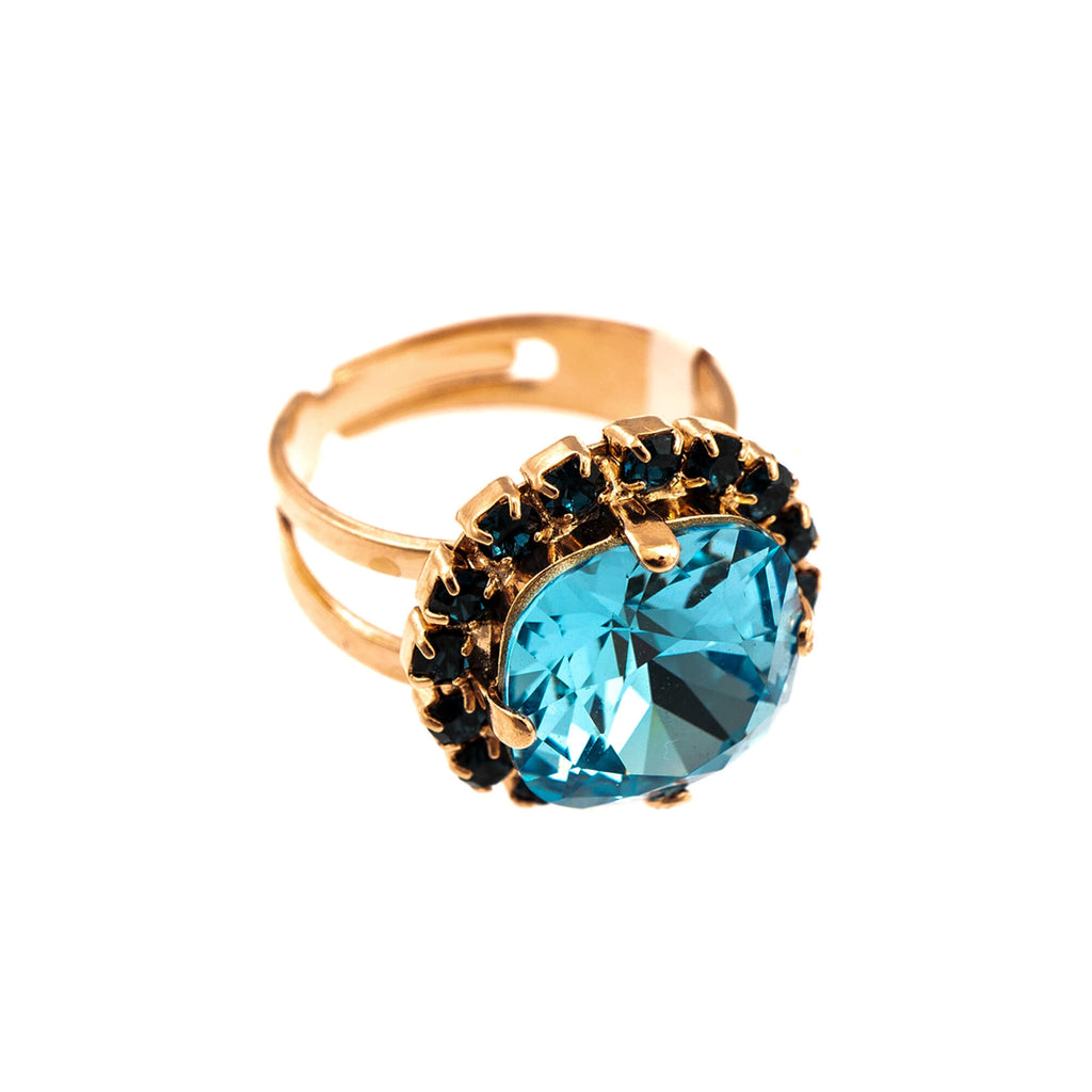 Mariana Rose Gold Plated Ring | Roxanne's Jewellery | 1114RG