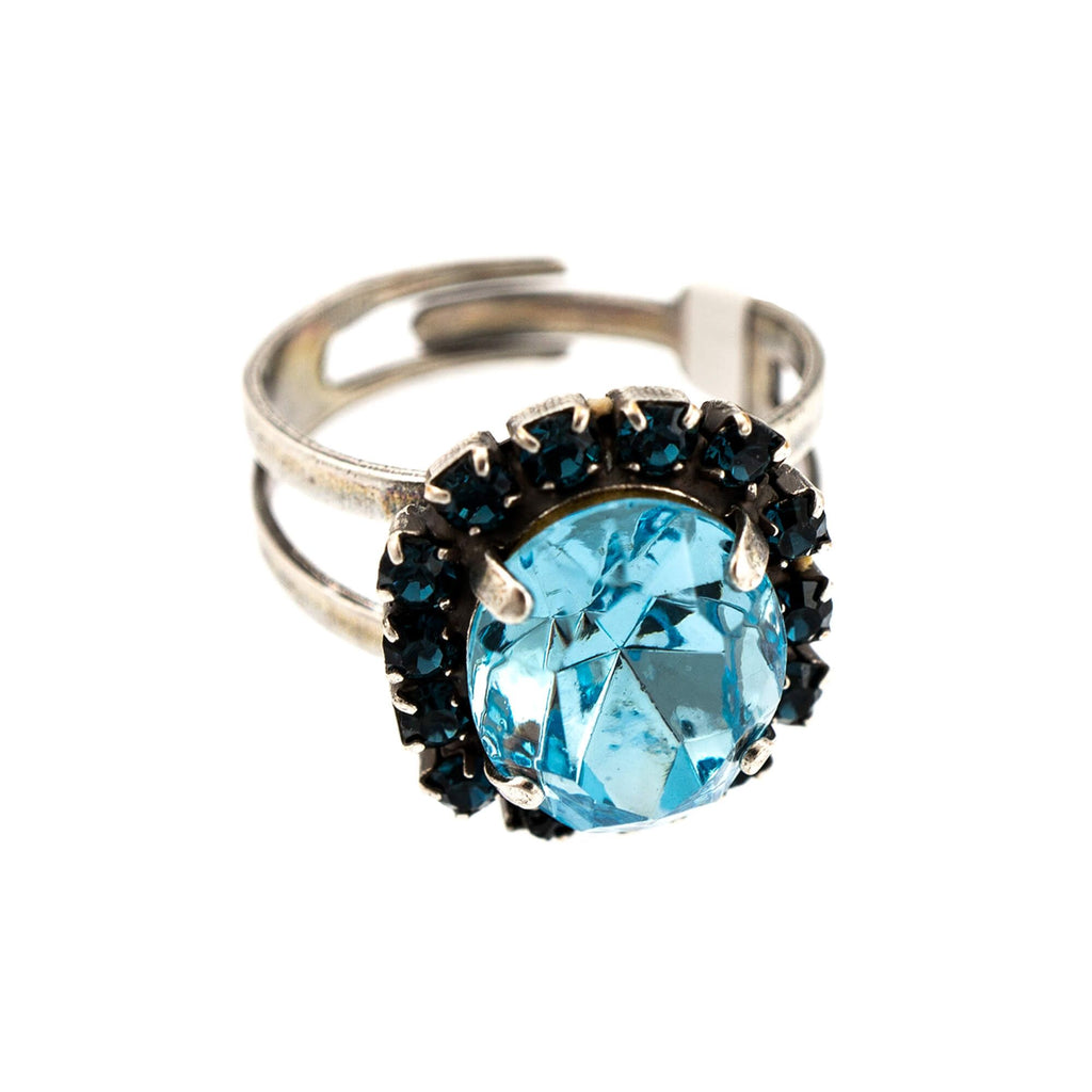 Mariana Silver Plated Ring | Roxanne's Jewellery | 1114SP