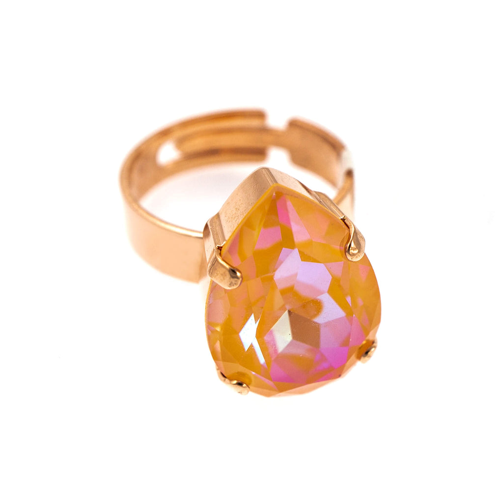 Mariana Rose Gold Plated Ring | Roxanne's Jewellery | 140RG