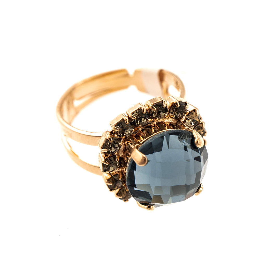 Mariana Rose Gold Plated Ring | Roxanne's Jewellery | 215-3RG