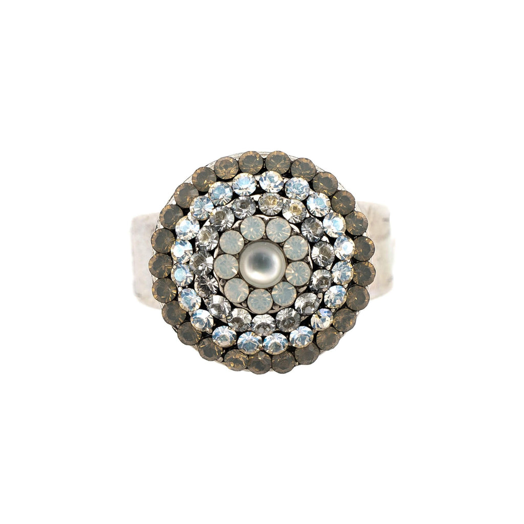 Silk Collection Silver Plated Ring-7193-1049SP