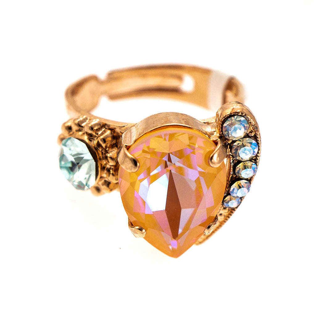 Mariana Rose Gold Plated Ring | Roxanne's Jewellery | 1913RG