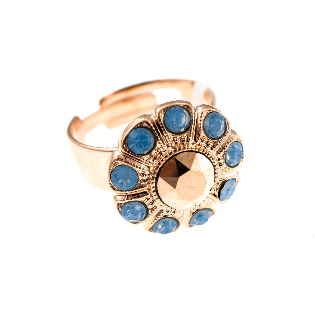 Mariana Rose Gold Plated Ring | Roxanne's Jewellery | 1092RG