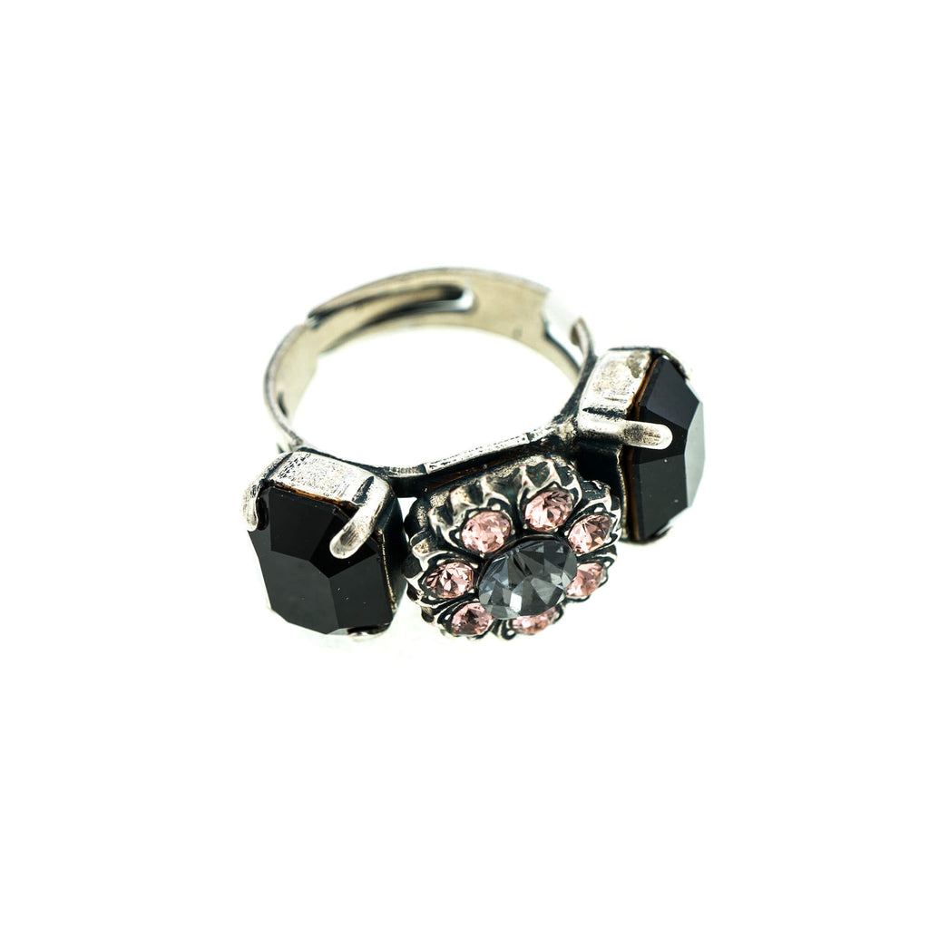 Mariana Silver Plated Ring | Roxanne's Jewellery | 1073SP