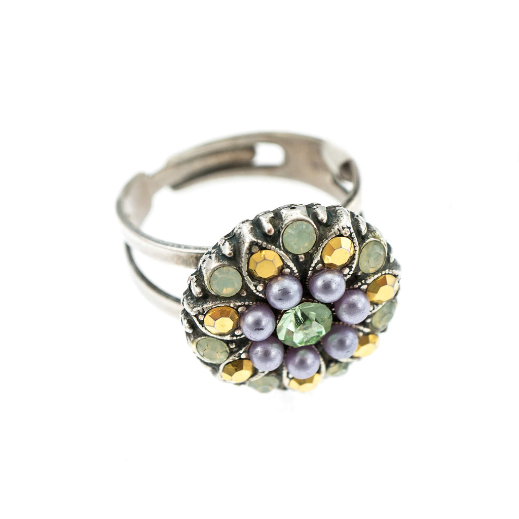 Mariana Silver Plated Ring | Roxanne's Jewellery | 1327SP