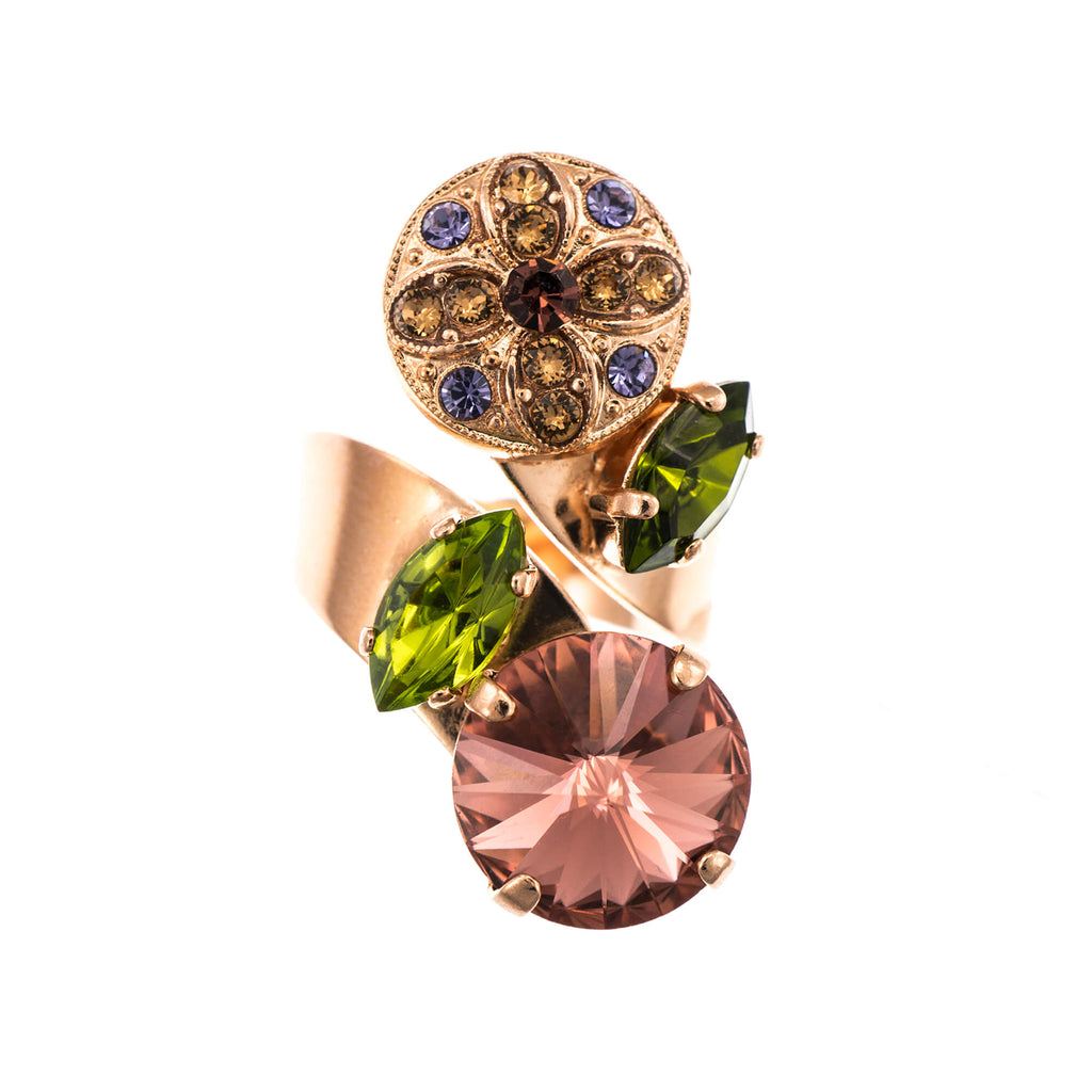 Mariana Rose Gold Plated Ring | Roxanne's Jewellery | 1089RG