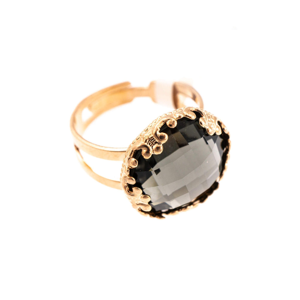 Mariana Rose Gold Plated Ring | Roxanne's Jewellery | 215ARG