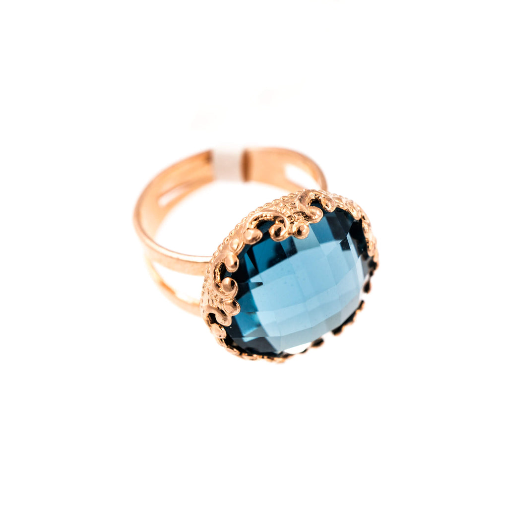 Mariana Rose Gold Plated Ring | Roxanne's Jewellery | 266ARG