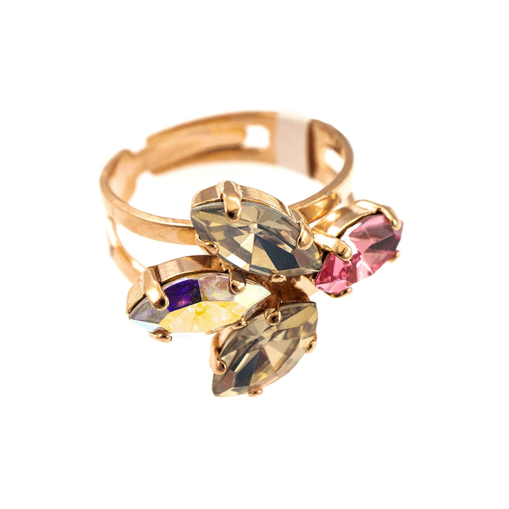 Mariana Rose Gold Plated Ring | Roxanne's Jewellery | 1112RG