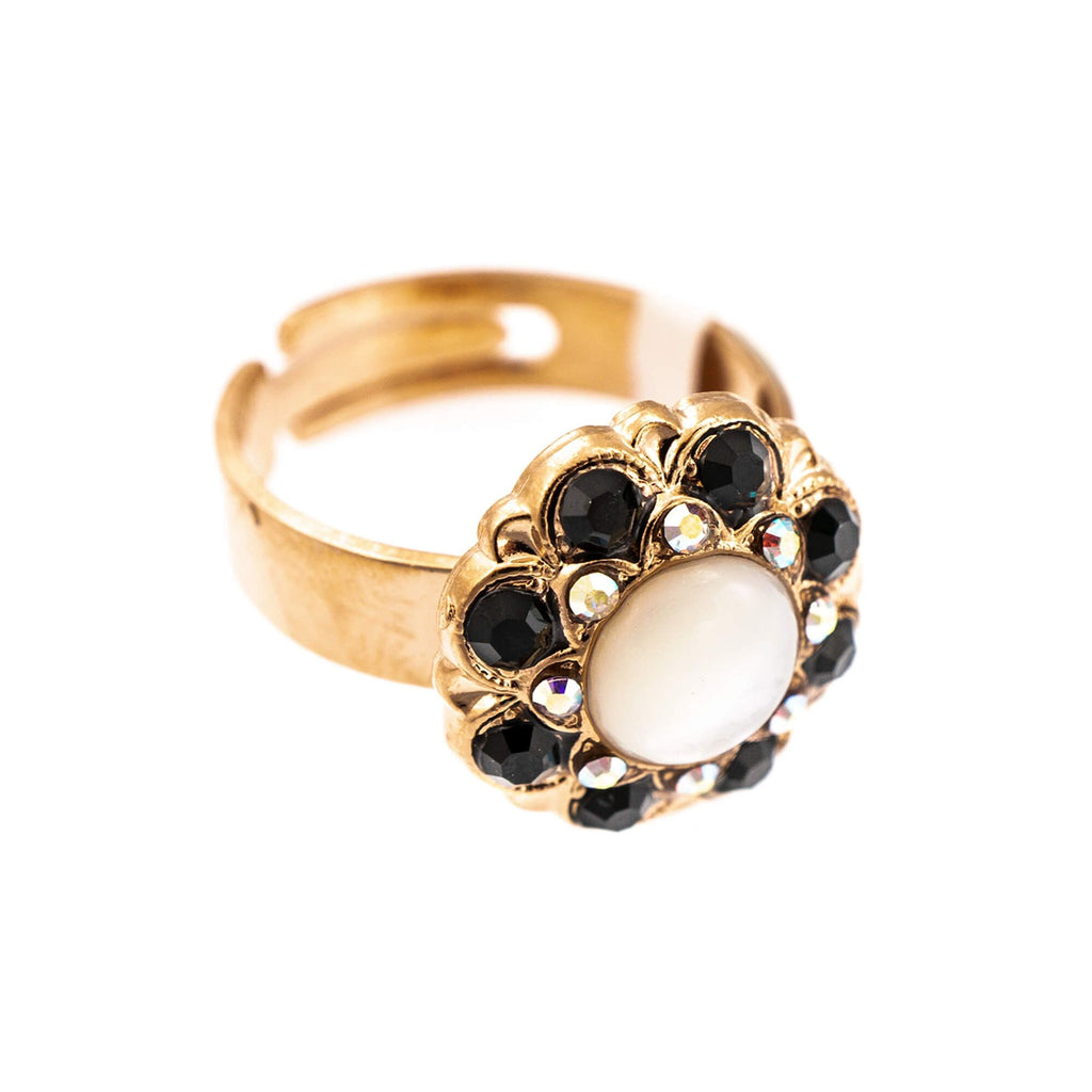 Mariana Rose Gold Plated Ring | Roxanne's Jewellery | 87280RG