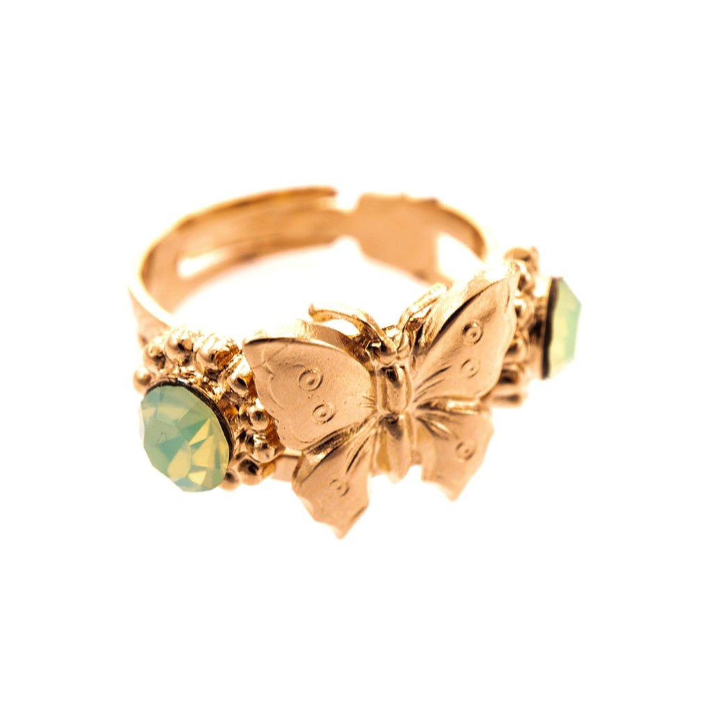Mariana Rose Gold Plated Ring | Roxanne's Jewellery | 294RG