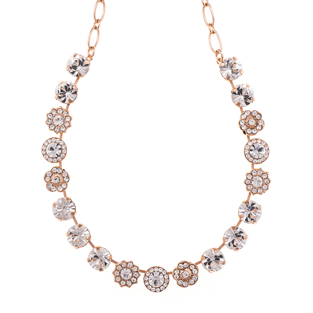 Mariana Rose Gold Plated Necklace | Roxanne's Jewellery | 001001RG