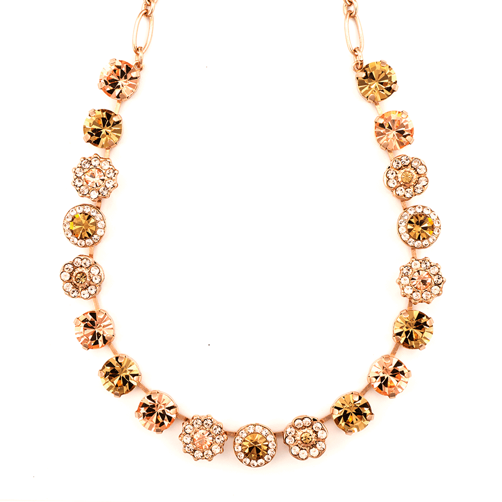 Mariana Rose Gold Plated Necklace | Roxanne's Jewellery | 39132RG