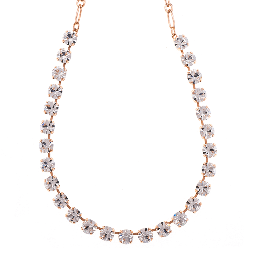 Mariana Rose Gold Plated Necklace | Roxanne's Jewellery | 001RG