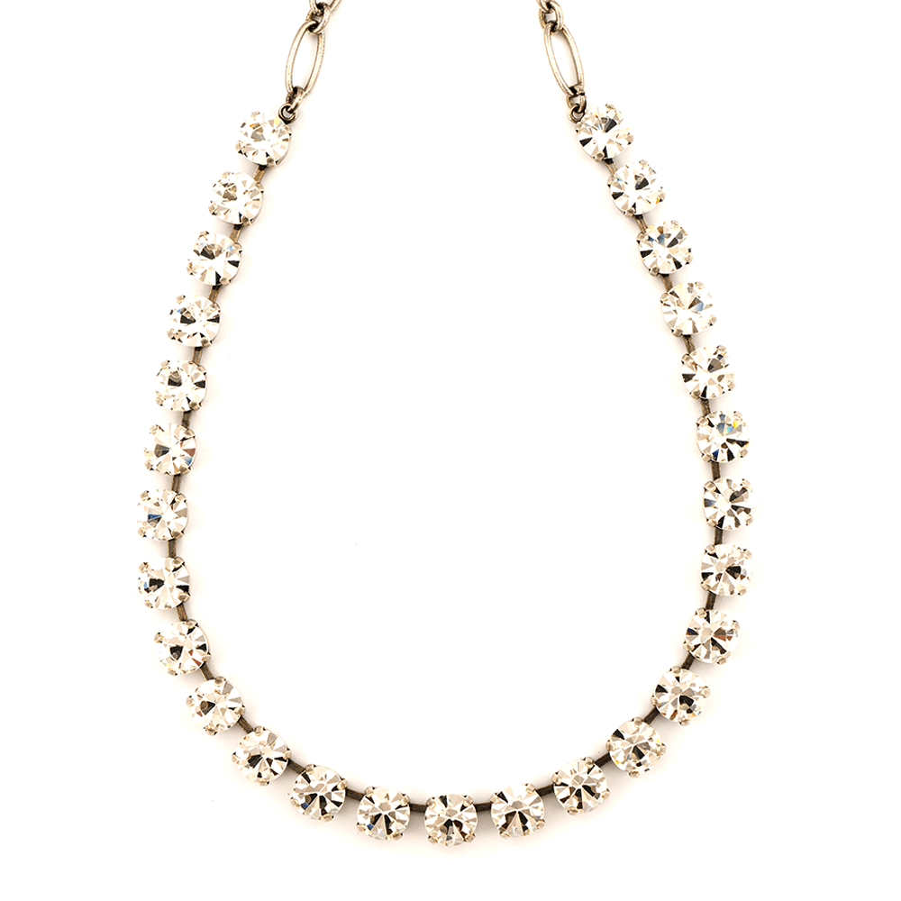 Mariana Silver Plated Necklace | Roxanne's Jewellery | 001SP