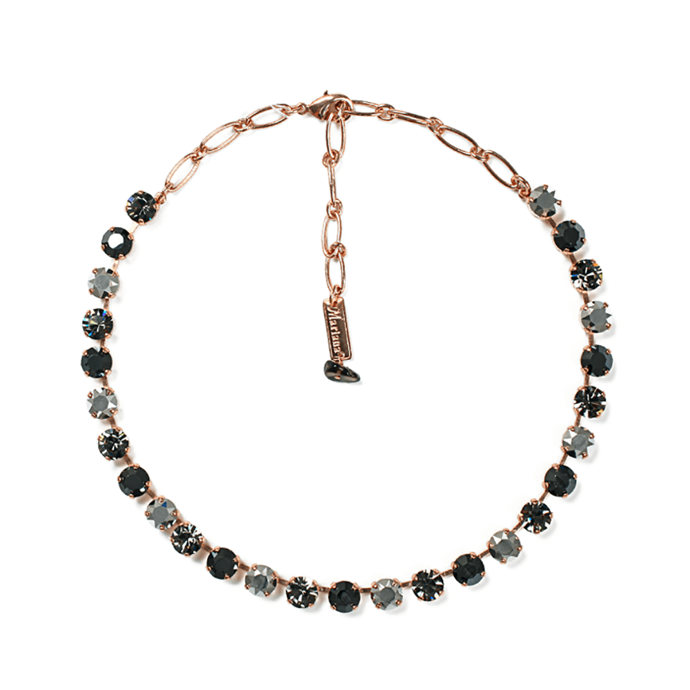 Mariana Rose Gold Plated Necklace | Roxanne's Jewellery | 747RG