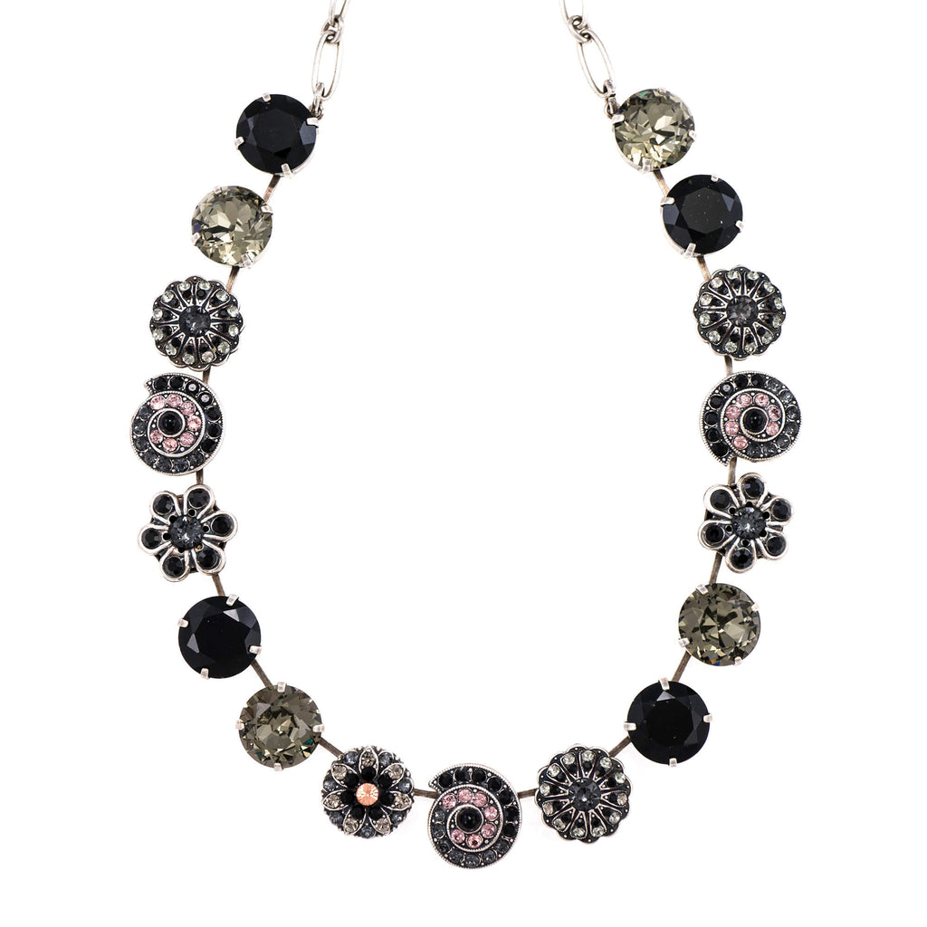 Mariana Silver Plated Necklace | Roxanne's Jewellery | 1073SP