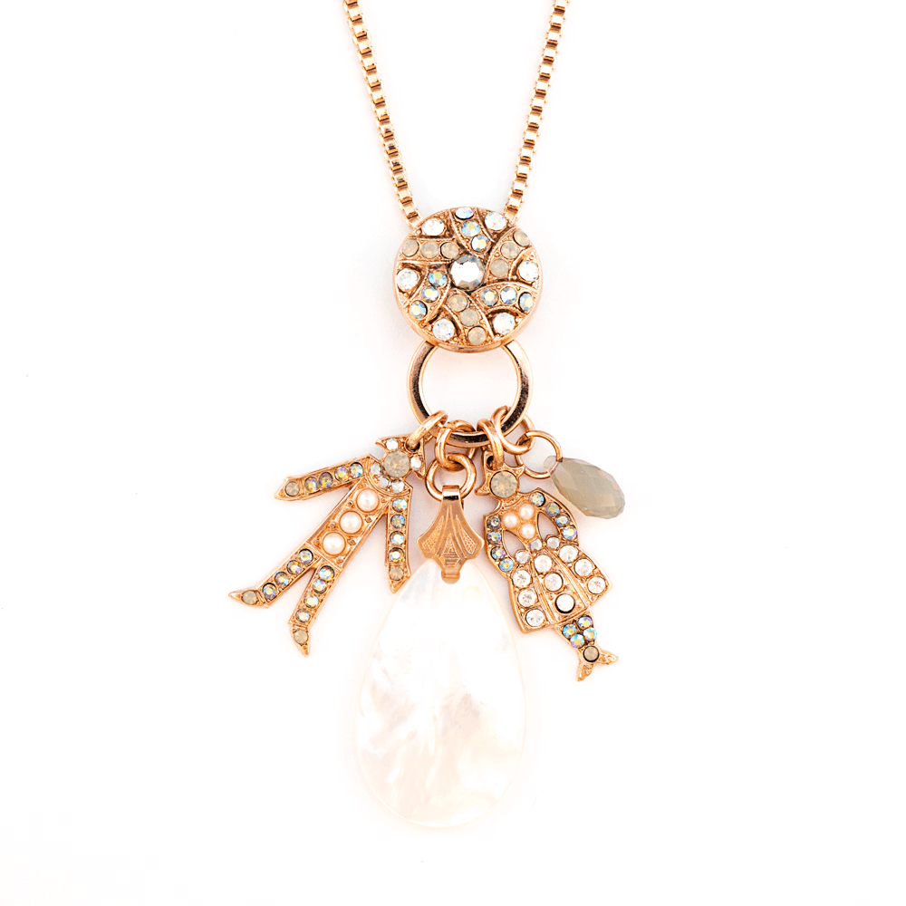 Mariana Rose Gold Plated Pendant Necklace | Roxanne's Jewellery | 1006RG