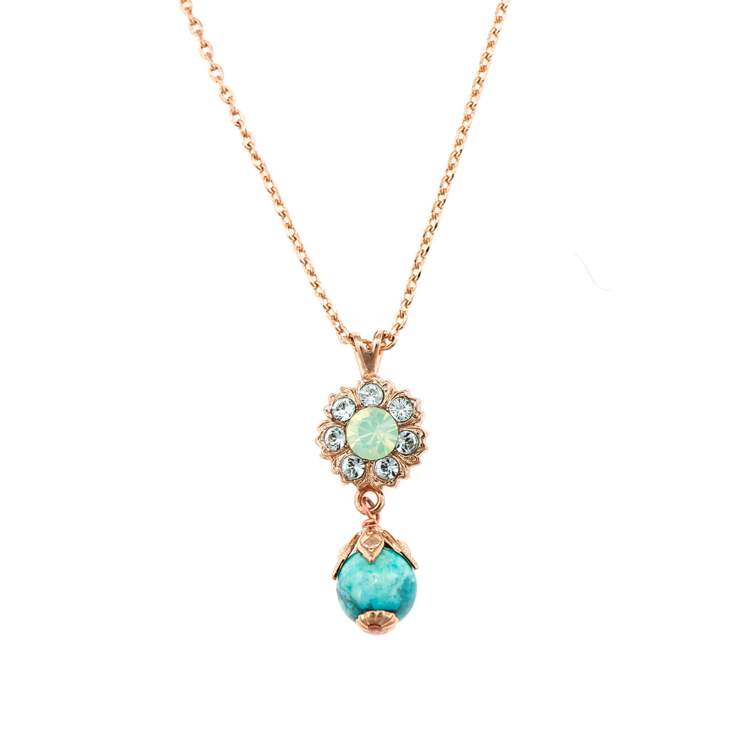 Mariana Rose Gold Plated Pendant Necklace | Roxanne's Jewellery | M1065RG