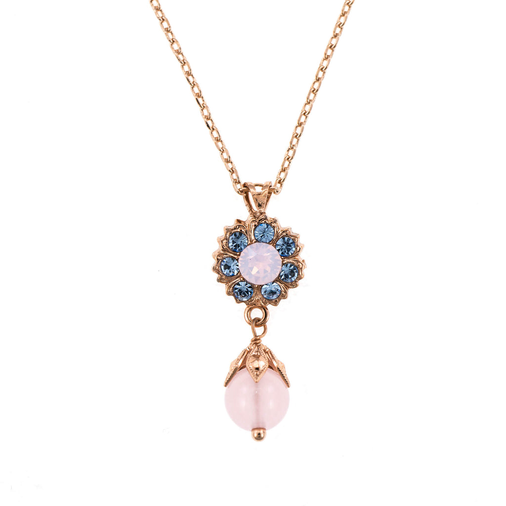 Mariana Rose Gold Plated Pendant Necklace | Roxanne's Jewellery | M1067RG