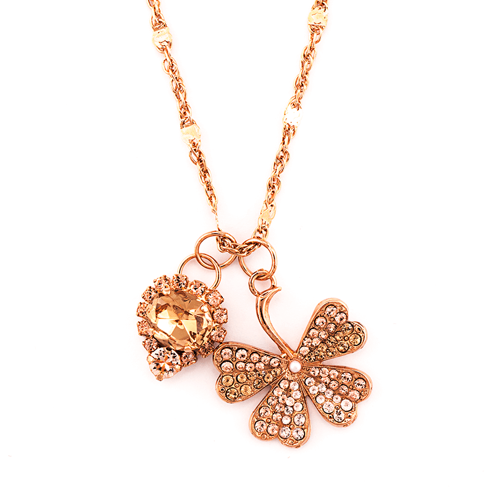 Mariana Rose Gold Plated Pendant Necklace | Roxanne's Jewellery | 39132RG