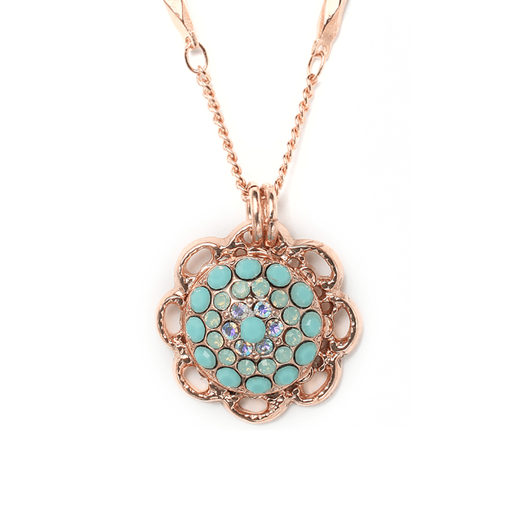 Mariana Rose Gold Plated Pendant Necklace | Roxanne's Jewellery | 2677rg