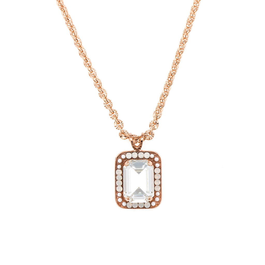 Mariana Rose Gold Plated Pendant Necklace | Roxanne's Jewellery | 5087RG