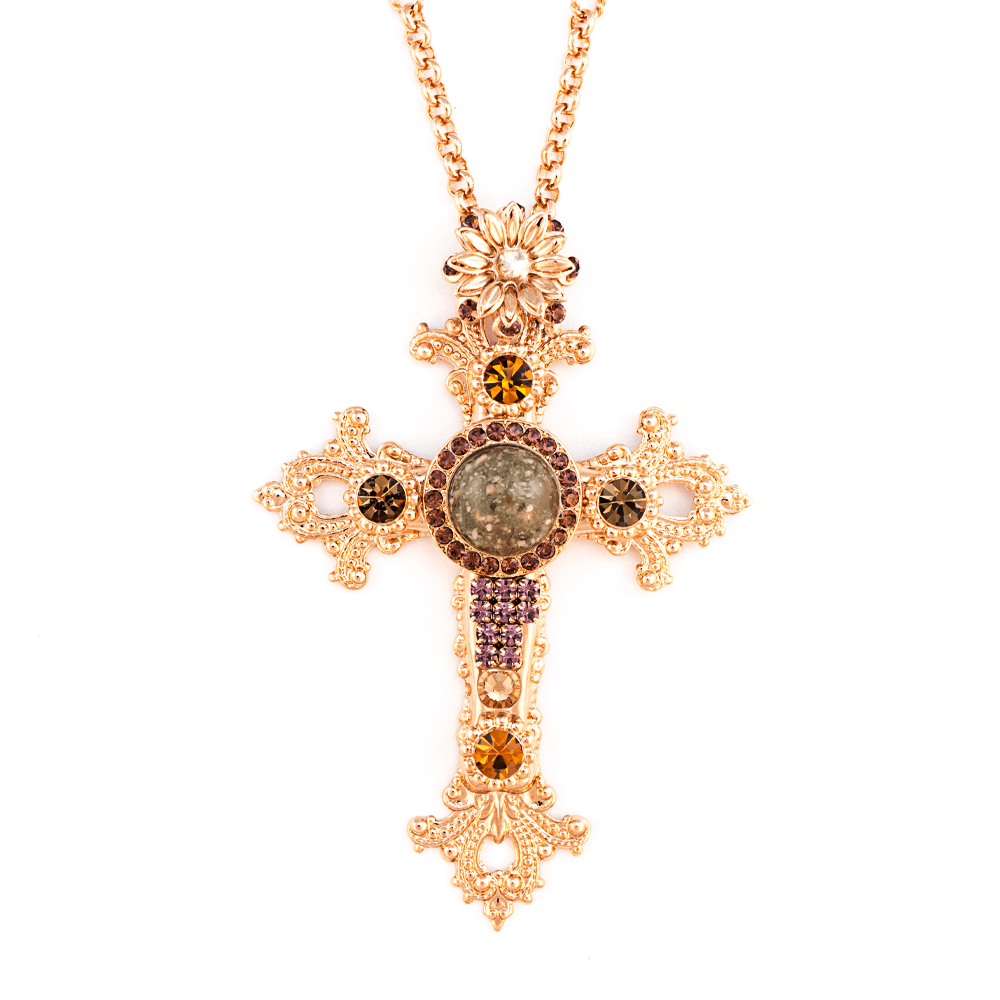 Mariana Rose Gold Plated Pendant Necklace | Roxanne's Jewellery | 1018RG