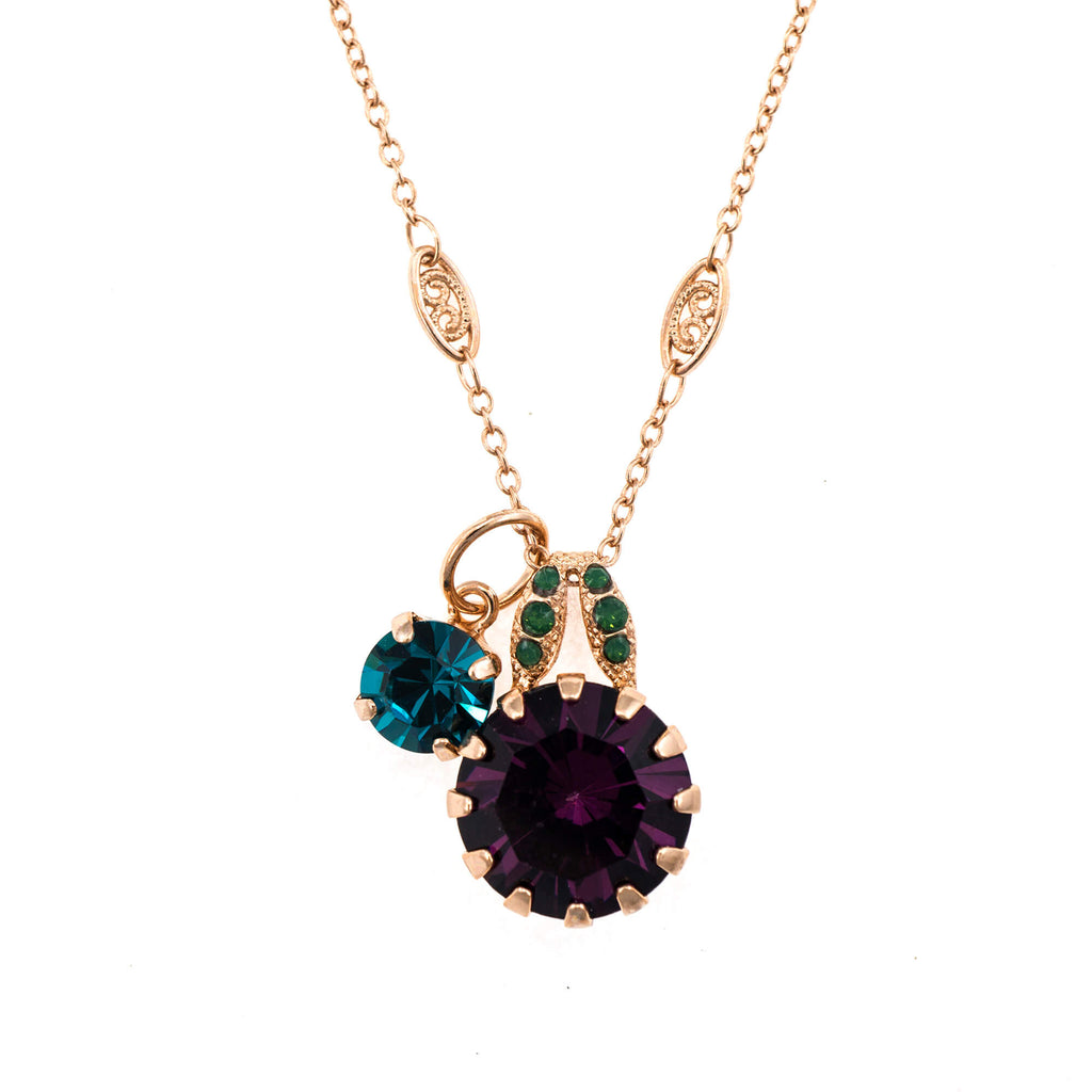Mariana Rose Gold Plated Pendant Necklace | Roxanne's Jewellery | 1019RG