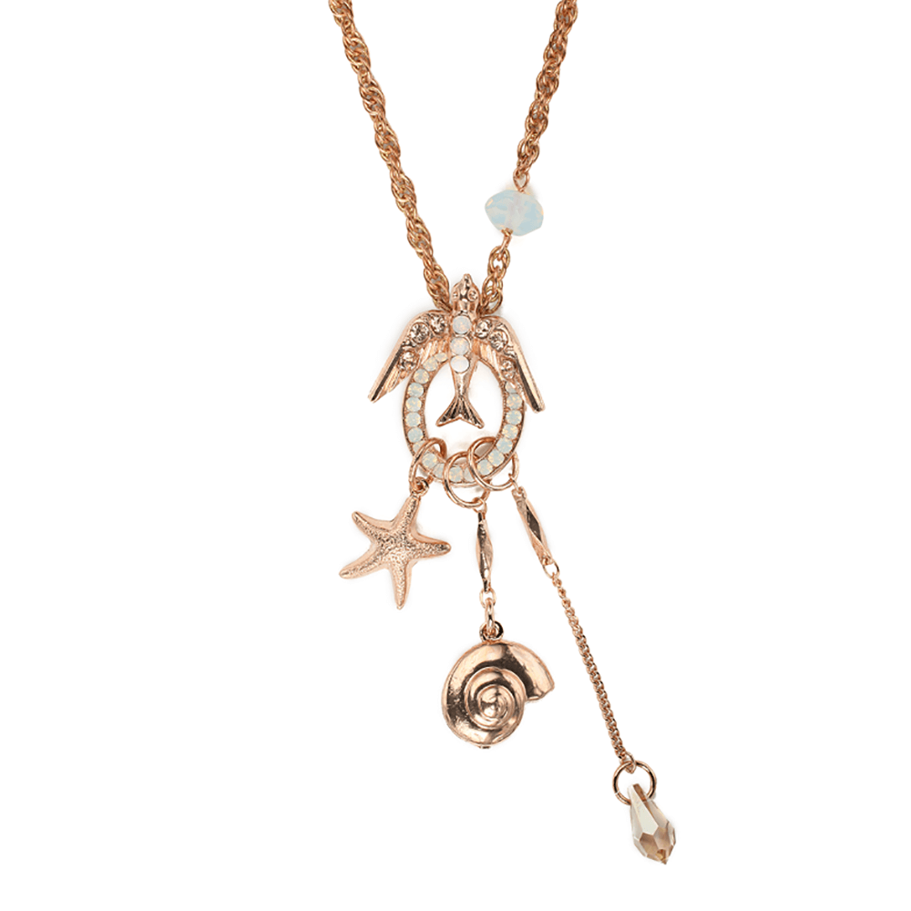 Mariana Rose Gold Plated Pendant Necklace | Roxanne's Jewellery | 2333rg