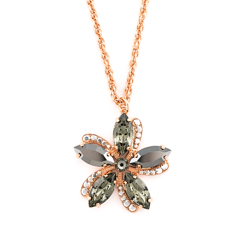 Mariana Rose Gold Plated Pendant Necklace | Roxanne's Jewellery | 747RG