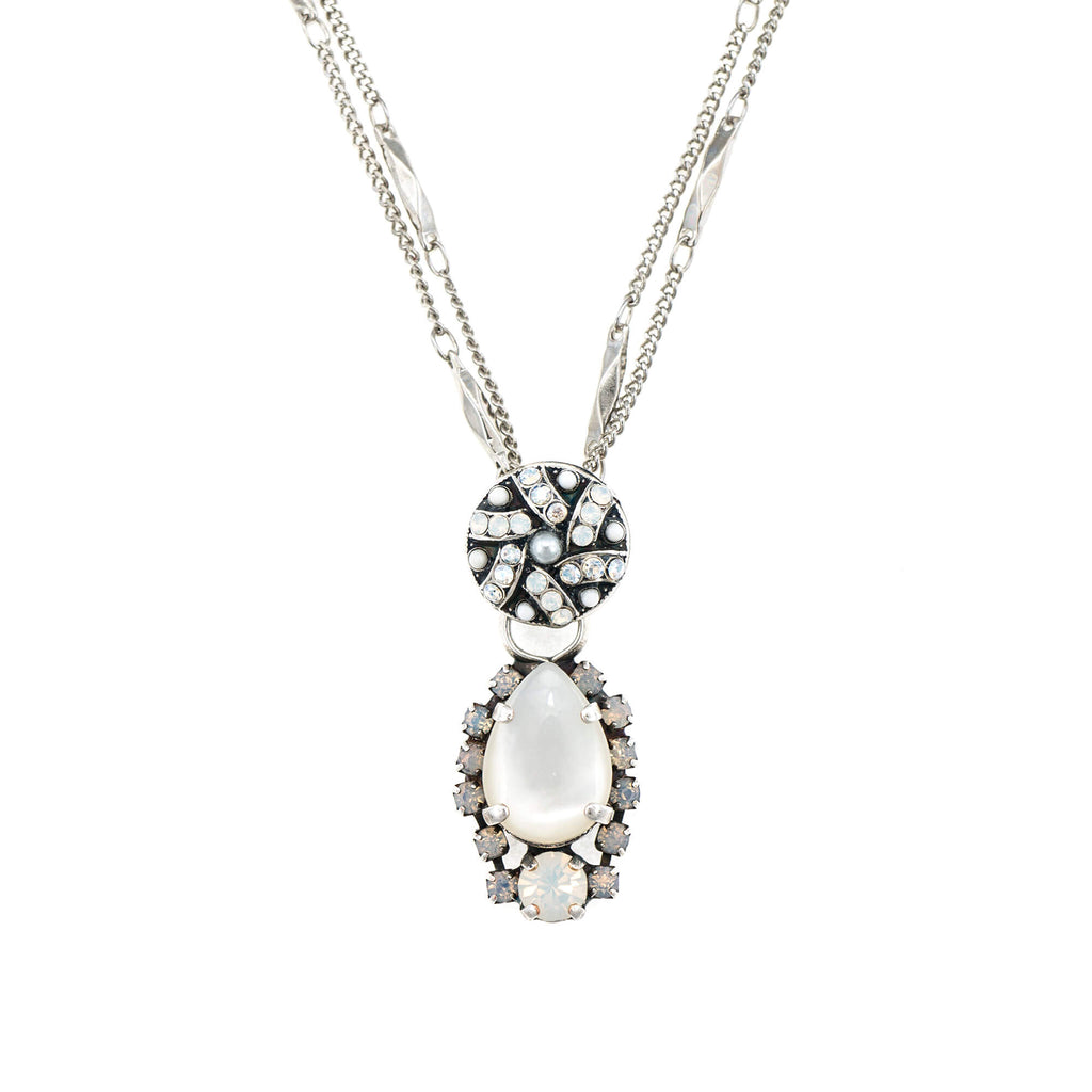 Mariana Silver Plated Pendant Necklace | Roxanne's Jewellery | M5087SP
