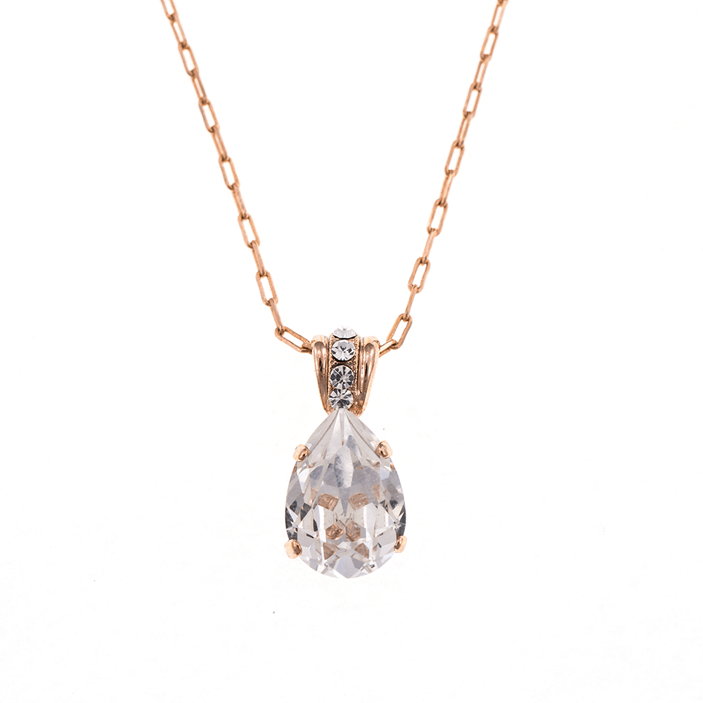 Mariana Rose Gold Plated Pendant Necklace | Roxanne's Jewellery | 001001RG