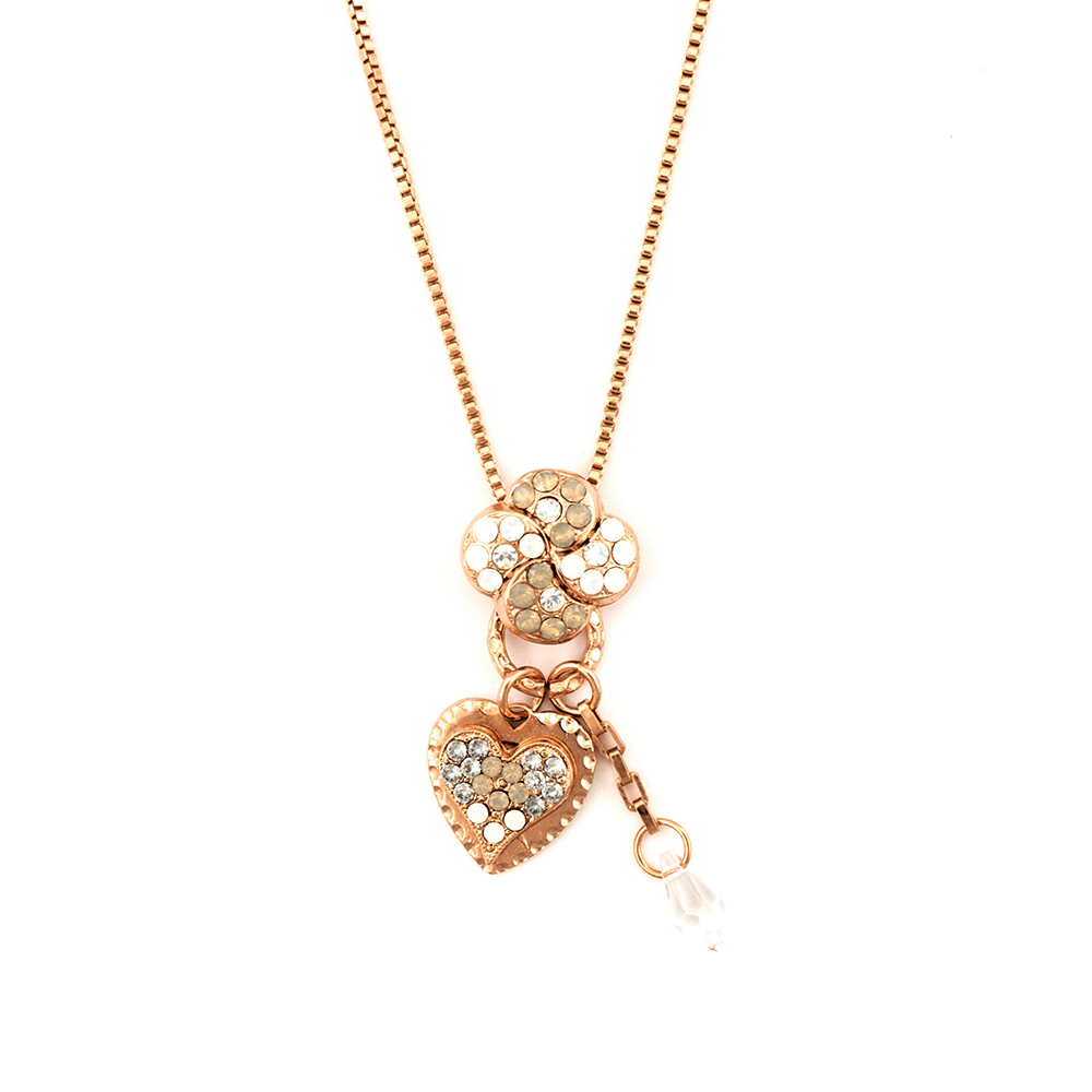 Mariana Rose Gold Plated Pendant Necklace | Roxanne's Jewellery | 1049RG