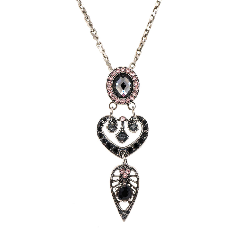 Mariana Silver Plated Pendant Necklace | Roxanne's Jewellery | 1073SP