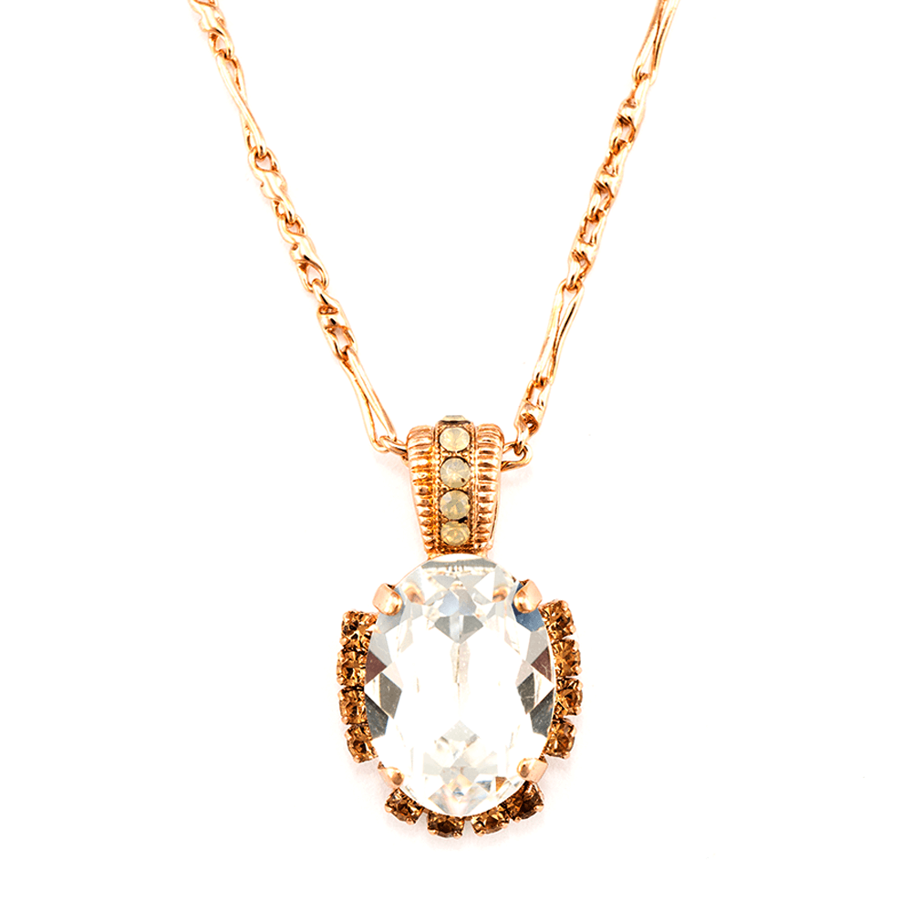 Mariana Rose Gold Plated Pendant Necklace | Roxanne's Jewellery | 391100RG