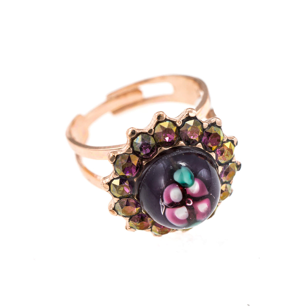 Mariana Rose Gold Plated Ring | Roxanne's Jewellery | 1072RG