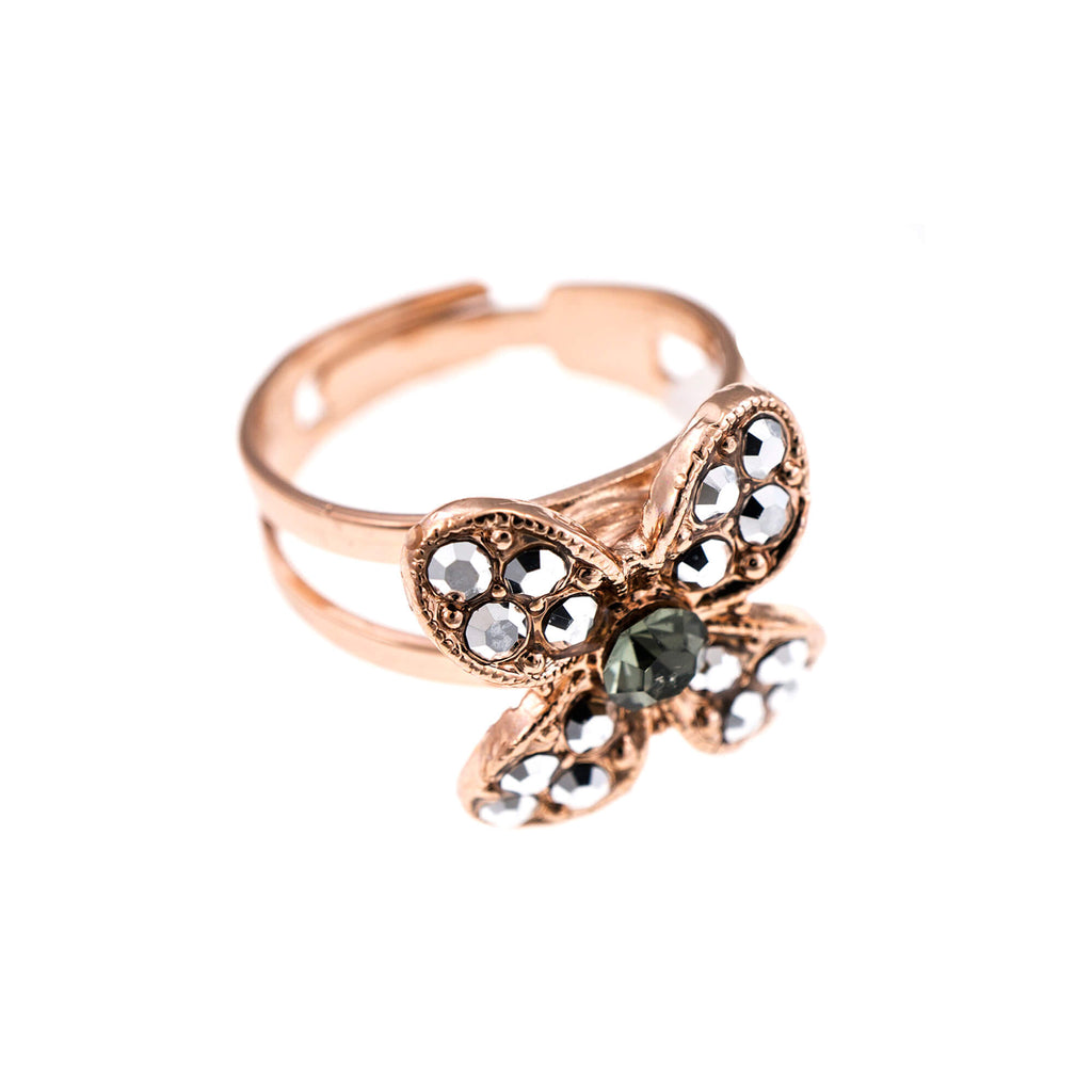 Mariana Rose Gold Plated Ring | Roxanne's Jewellery | 747RG