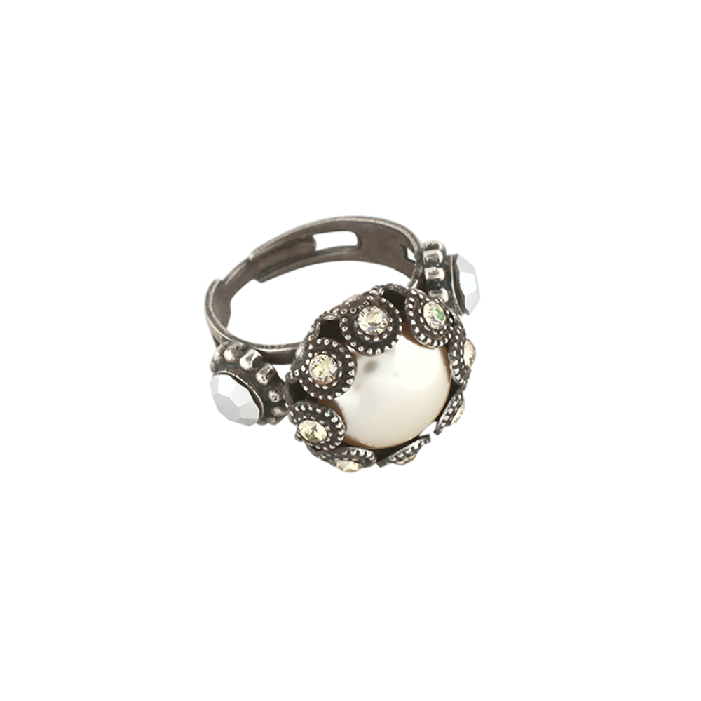 Mariana Silver Plated Ring | Roxanne's Jewellery | 1006SP