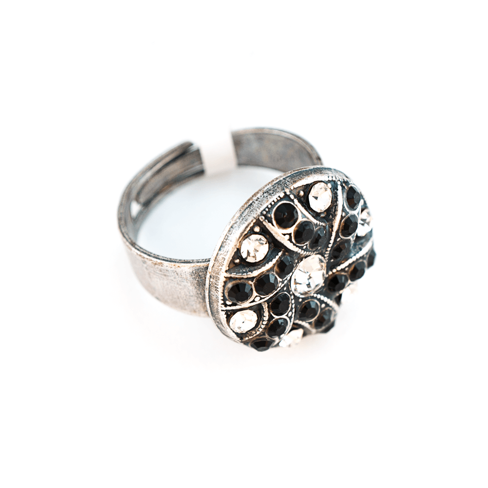 Mariana Silver Plated Ring | Roxanne's Jewellery | 280-1SP