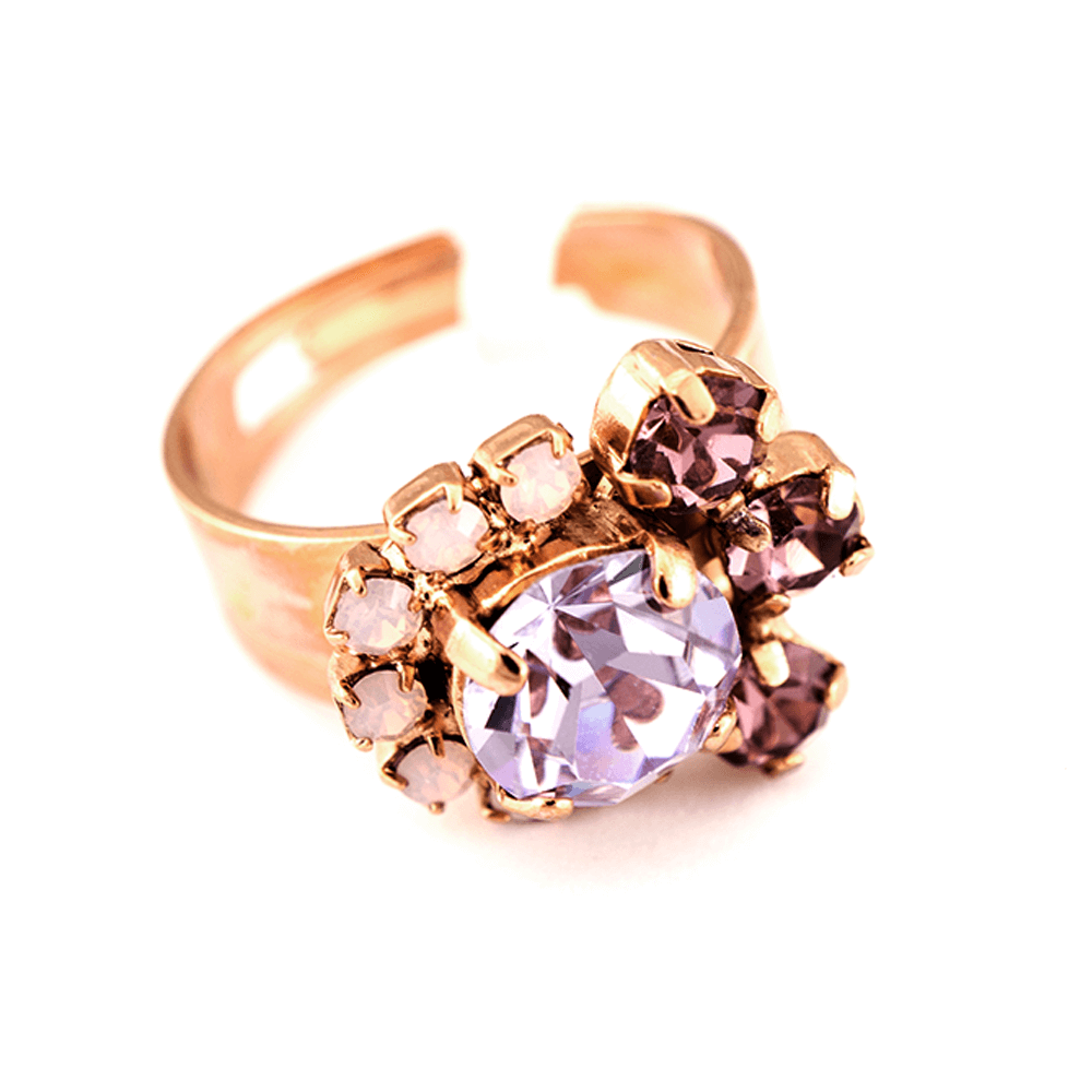 Mariana Rose Gold Plated Ring | Roxanne's Jewellery | 1022RG