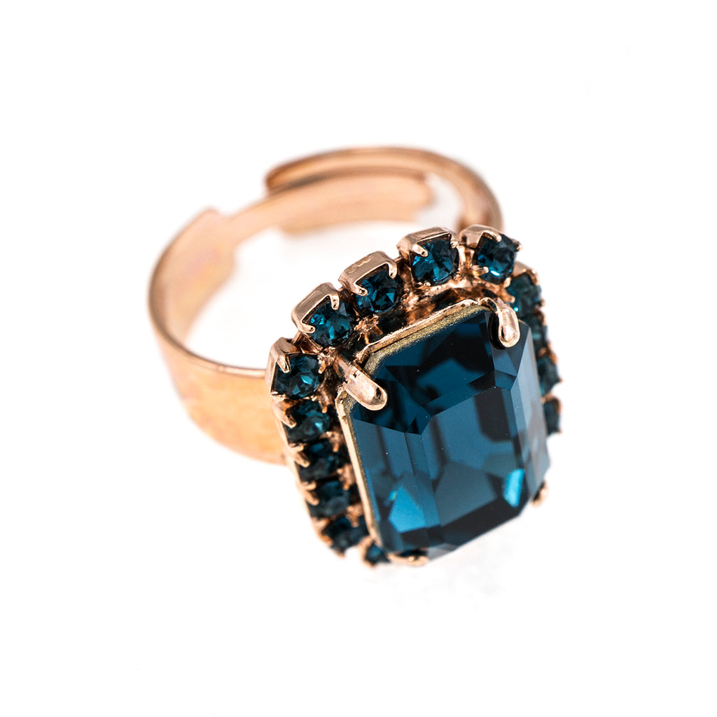 Mariana Rose Gold Plated Ring | Roxanne's Jewellery | 1069RG