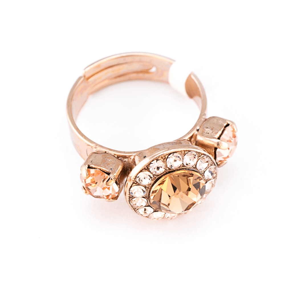 Mariana Rose Gold Plated Ring | Roxanne's Jewellery | 39132RG