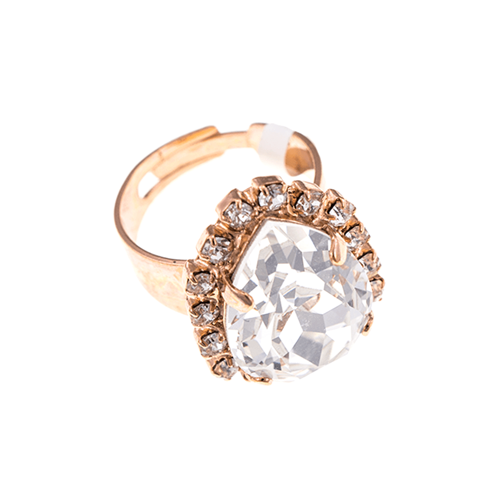 Mariana Rose Gold Plated Ring | Roxanne's Jewellery | 001001RG