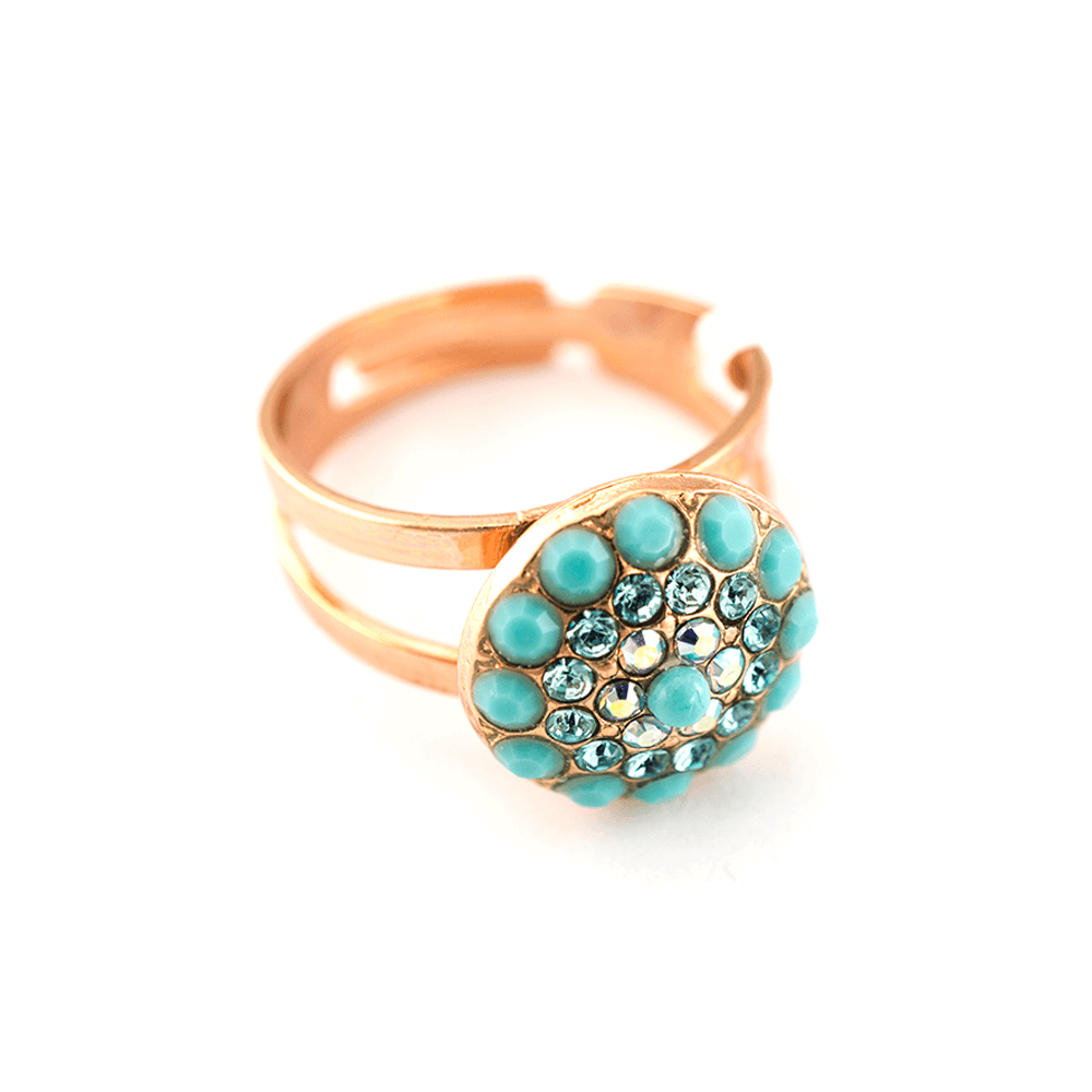 Mariana Rose Gold Plated Ring | Roxanne's Jewellery | 2672RG