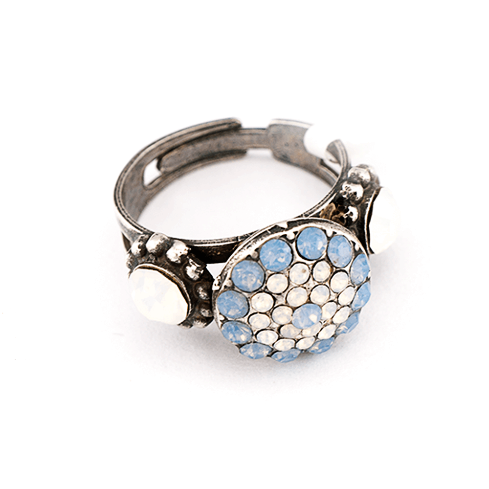 Mariana Silver Plated Ring | Roxanne's Jewellery | 234-4SP
